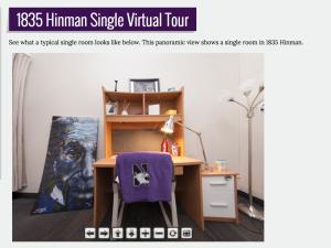 Residence hall virtual tours northwestern it services for Northwestern virtual tour