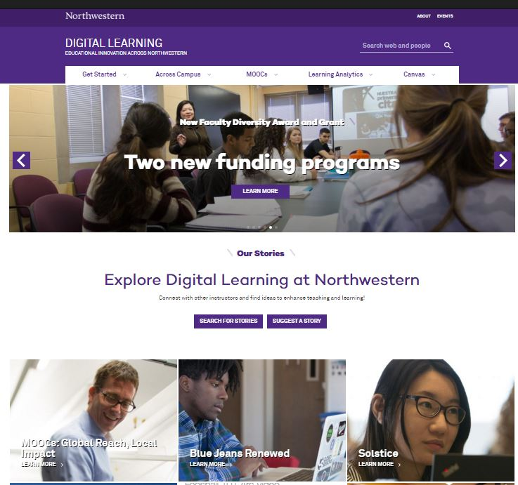 Digital Learning Homepage